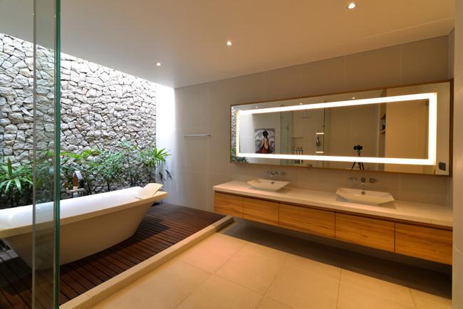 100544baoxaydung image013 - Ngôi nhà 3 tầng đẹp như khách sạn 5 sao giữa Sài Gòn