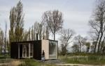 Ngôi nhà cabin hiện đại có thể di chuyển đến bất cứ đâu