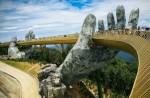 Ấn Độ muốn xây những cây cầu biểu tượng như Cầu Vàng ở Việt Nam