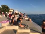 Cây đàn của Thần biển ở Zadar