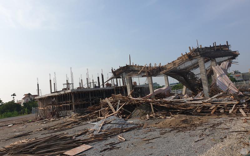 An Dương (Hải Phòng): Sập cây xăng xây dựng không phép, nhiều người thương vong