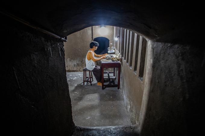 Căn hầm từng là cơ sở in ấn bí mật ở Sài Gòn