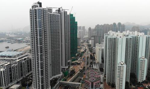 Nhà đất Hong Kong dừng mở bán vì biểu tình