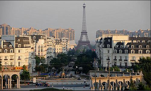 Thành phố Paris 'nhái' giữa lòng Trung Quốc