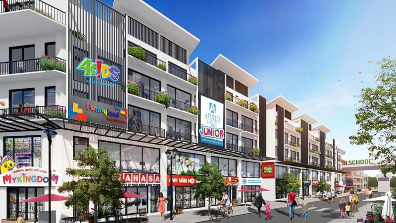 Shophouse hấp dẫn giới đầu tư vì cơ hội tăng giá tốt hơn các sản phẩm bất động sản khác?