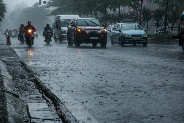 Chiều tối và đêm 16/8, các khu vực trên cả nước đều có mưa, dông