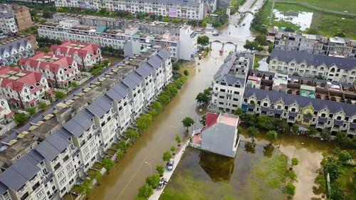 Hà Nội: Giải pháp nào để chống ngập lụt cho các đô thị trục Đại lộ Thăng Long
