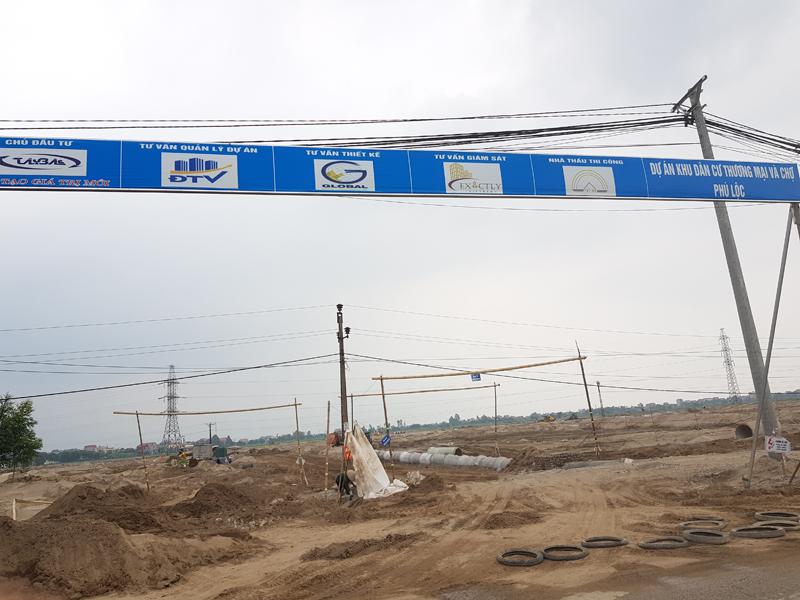 Cẩm Giàng (Hải Dương): Làm rõ việc đền bù GPMB tại Dự án Khu dân cư thương mại và chợ Phú Lộc