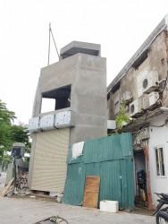 """Hai Bà Trưng (Hà Nội): Một công trình có kiến trúc """"kỳ dị"""" được cấp phép xây dựng"""