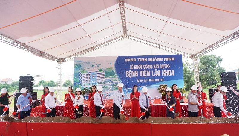 Quảng Ninh: Khởi công xây dựng Bệnh viện Lão khoa tuyến tỉnh đầu tiên trong cả nước