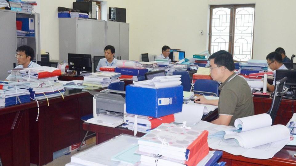 Ngành Xây dựng Nghệ An: 7 tháng đầu năm 2019 đã xử lý 1.139 hồ sơ trước hạn