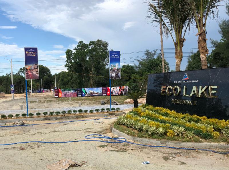 Thừa Thiên - Huế: Dự án Eco Lake chưa xong thủ tục vẫn rao bán đất nền