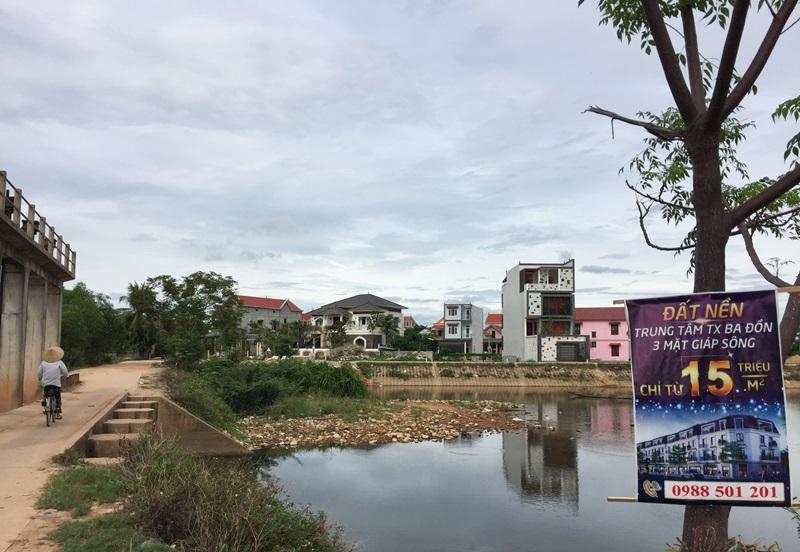 Quảng Bình: Trở lại việc rao bán 32 lô đất khi chưa đủ điều kiện pháp lý, sai quy hoạch tại thị xã Ba Đồn