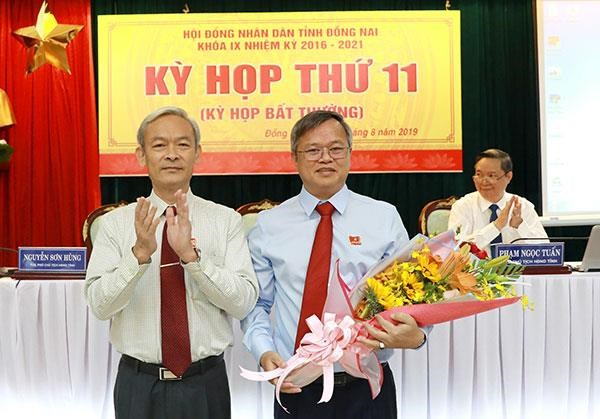 Ông Cao Tiến Dũng được bầu làm Chủ tịch Ủy ban Nhân dân tỉnh Đồng Nai