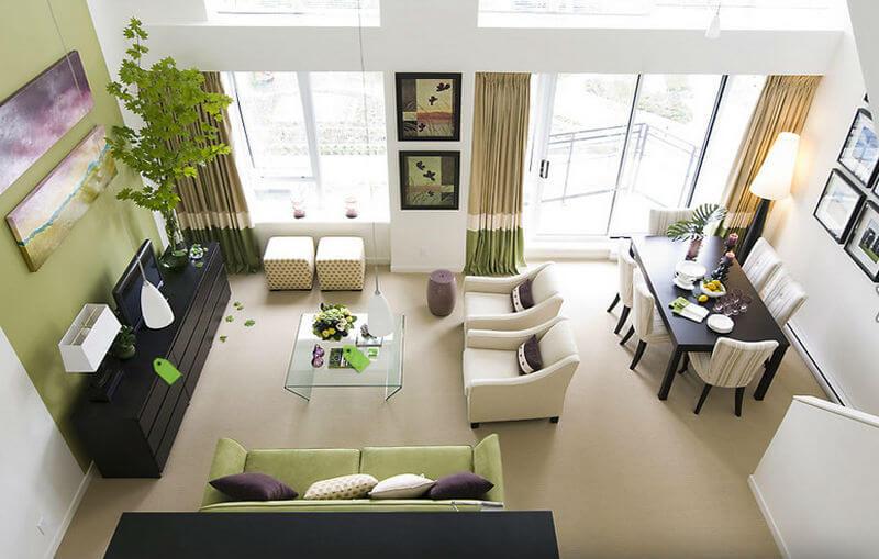 Cách phối màu khi thiết kế nội thất căn hộ chung cư