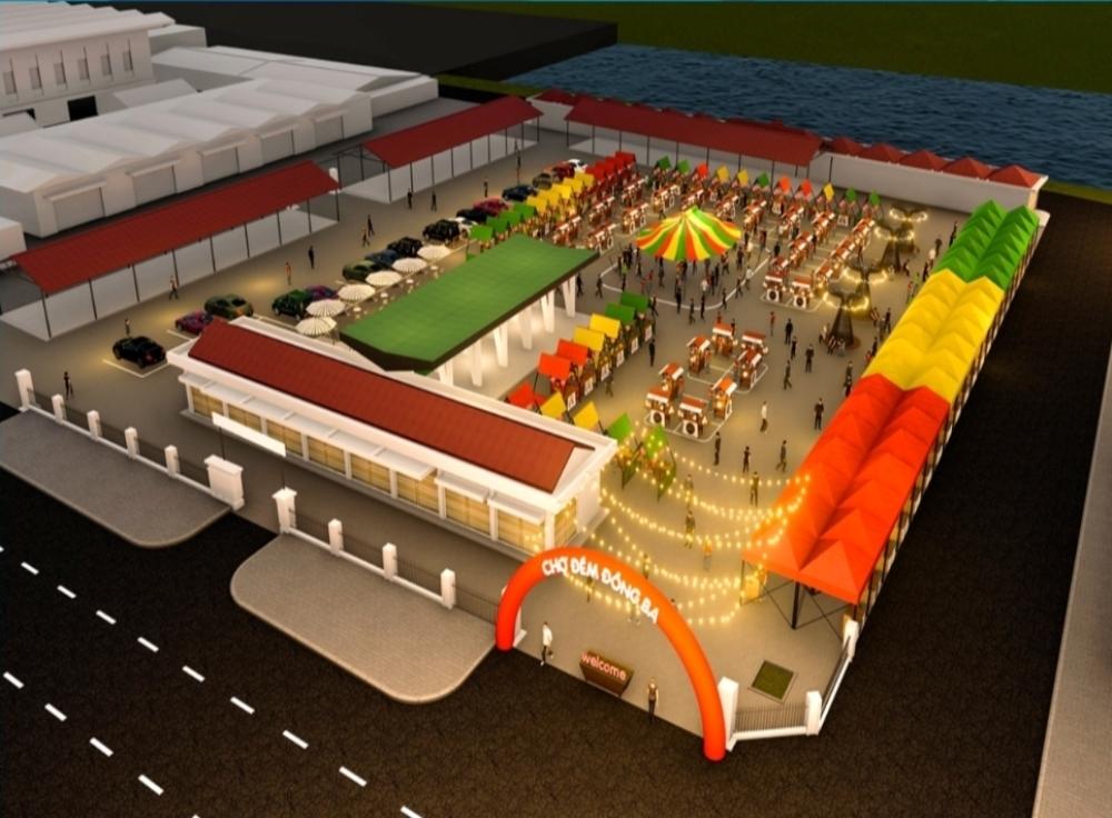 Thừa Thiên – Huế: Xây dựng phương án hình thành khu chợ đêm Đông Ba