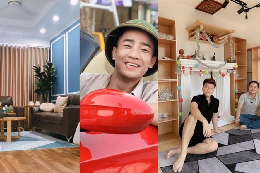 Khám phá căn hộ rộng hơn 100m2 của nhạc sĩ Sỹ Luân và Đỗ Duy Nam
