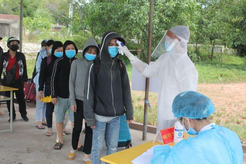 Thừa Thiên – Huế: Hơn 22.000 người trở về từ vùng dịch