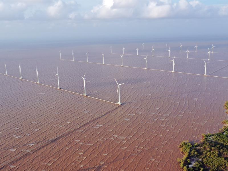 Bổ sung khoảng 7.000MW điện gió vào quy hoạch