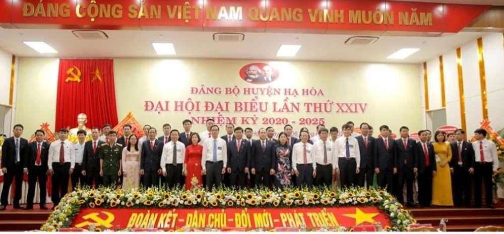 Phú Thọ: Đảng bộ huyện Hạ Hòa tổ chức Đại hội đại biểu lần thứ XXIV, nhiệm kỳ 2020 – 2025