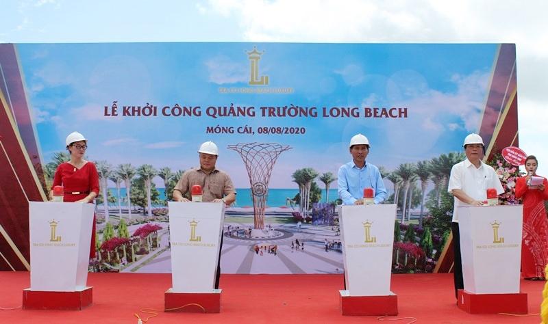 Móng Cái (Quảng Ninh): Khởi công xây dựng quảng trường biển