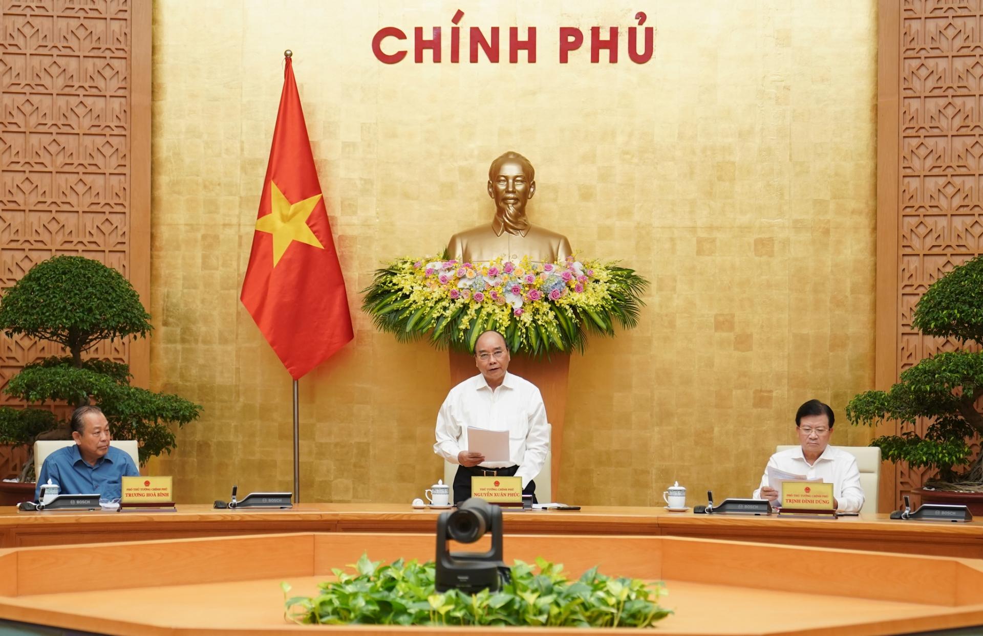 thu tuong chu tri hop chinh phu chuyen de xay dung phap luat