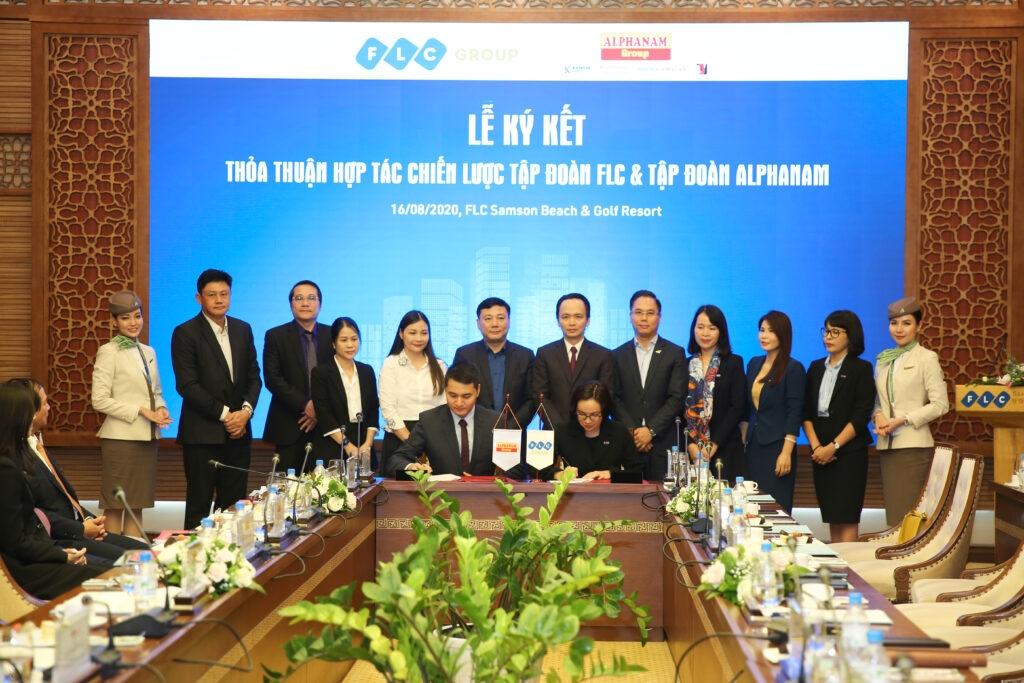 Alphanam Group và FLC Group ký kết thỏa thuận hợp tác chiến lược