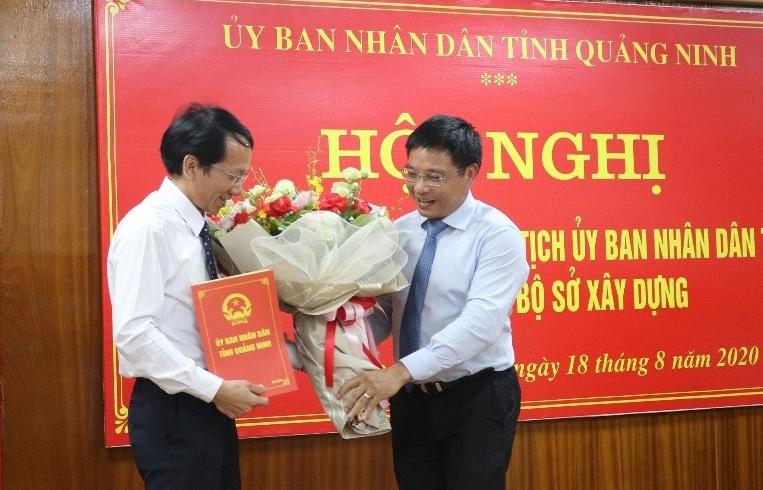 Quảng Ninh: Công bố quyết định bổ nhiệm ông Nguyễn Mạnh Tuấn giữ chức Giám đốc Sở Xây dựng