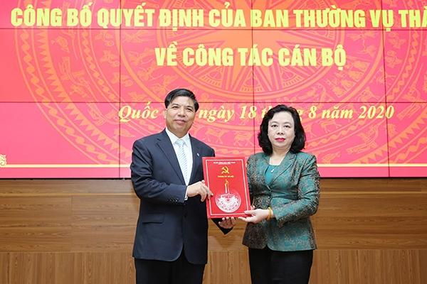 Chủ tịch UBND huyện Quốc Oai Đỗ Huy Chiến nhận nhiệm vụ mới