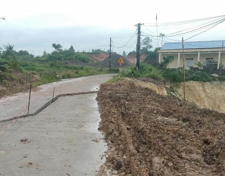 Thái Nguyên: Nhiều công trình xây dựng bị sụt, lún do khai thác mỏ