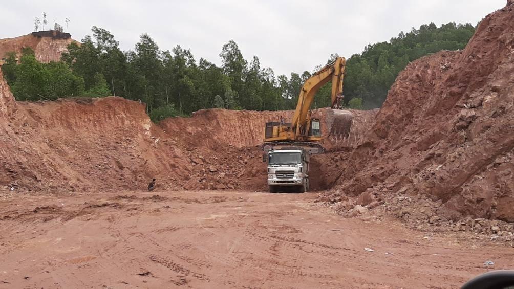 Thái Nguyên: Vụ doanh nghiệp khai thác đất trái phép, ngành chức năng tiếp tục báo cáo UBND tỉnh