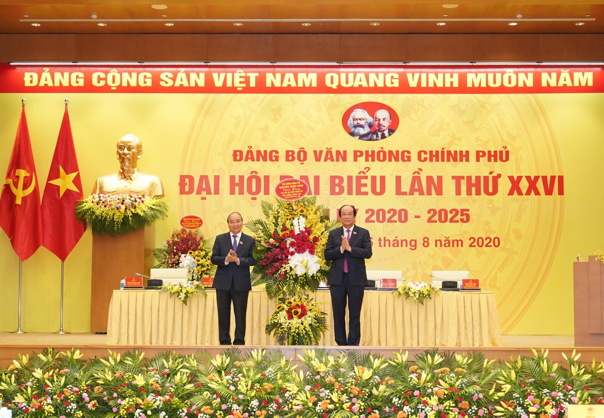 Đại hội Đảng bộ VPCP: Phát huy đoàn kết, dân chủ, kỷ cương, đổi mới và phát triển