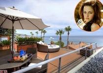 """""""Choáng ngợp"""" trước căn biệt thự ven biển sang trọng của Kristen Stewart"""
