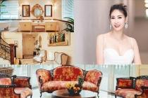 Penthouse được thiết kế theo phong cách hoàng gia của hoa hậu Hà Kiều Anh