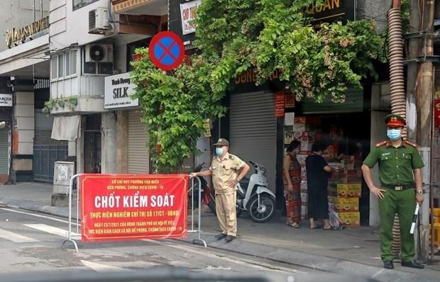 Hà Nội xử phạt 842 trường hợp vi phạm phòng chống dịch