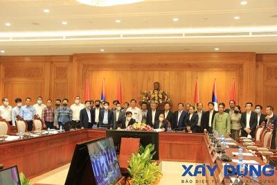 Chính thức nghiệm thu hoàn thành Nhà Quốc hội mới của Lào