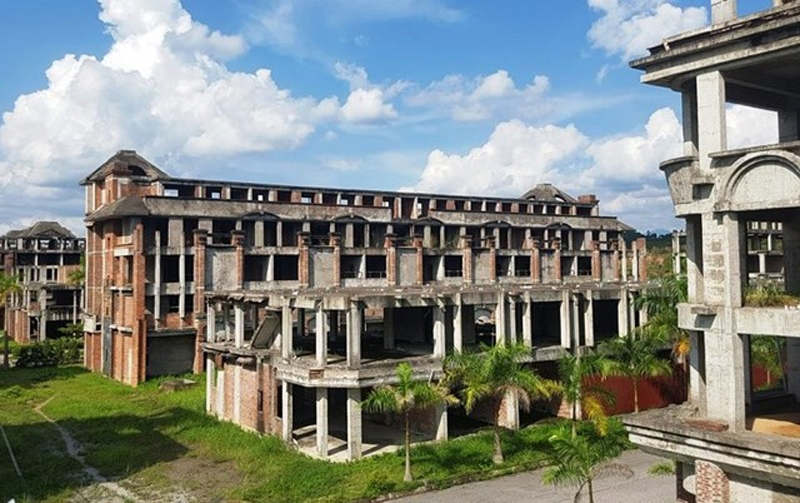 Lạng Sơn: Khách sạn sân golf Hoàng Đồng - Lạng Sơn bỏ hoang gần 20 năm, tỉnh họp bàn cách giải quyết