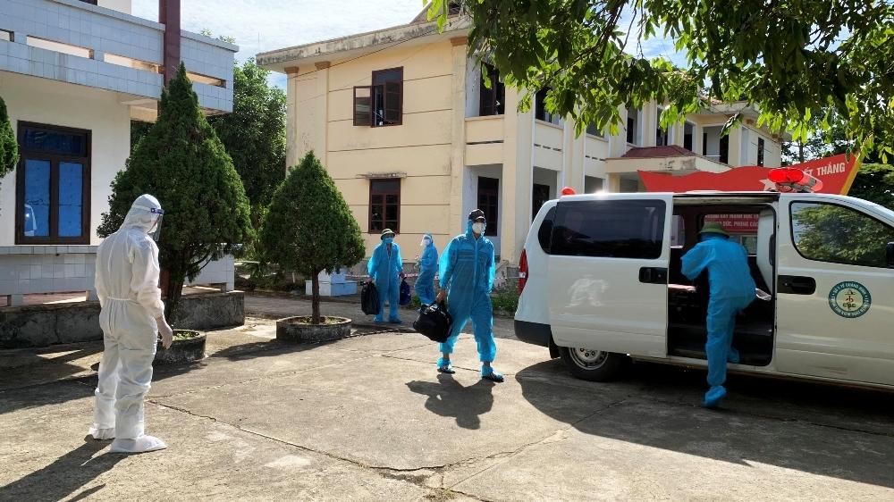 Quảng Bình: Tăng cường lực lượng, cơ sở điều trị bệnh nhân Covid-19
