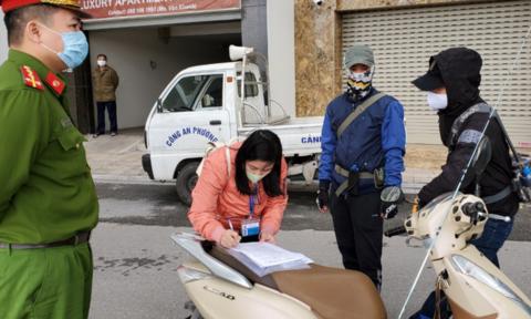 Hà Nội xử phạt 658 trường hợp vi phạm phòng chống dịch