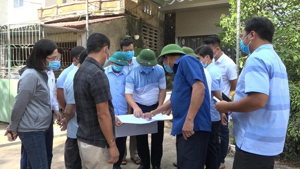 Tiền Hải (Thái Bình): Quyết tâm hoàn thành giải phóng mặt bằng đường 221a