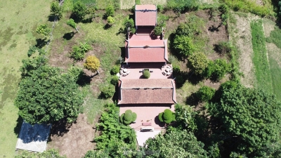 Ngôi đền bên dòng sông Ngàn Phố và truyền thuyết máu