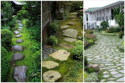 4 ý tưởng lối đi bằng đá ấn tượng trong sân vườn
