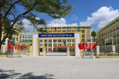 Quảng Ninh: Khang trang khu vệ sinh trường học