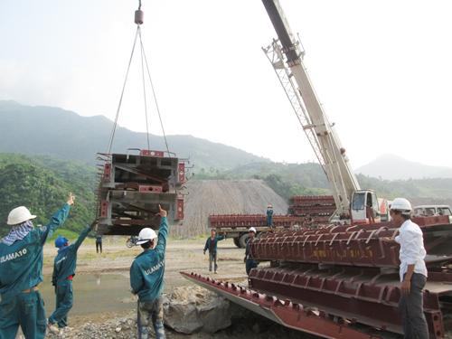Sức bật LILAMA10 trên công trường thủy điện Lai Châu