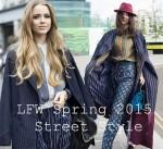 Street Style ấn tượng tại tuần lễ thời trang London mùa xuân 2015