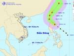 Xuất hiện bão Fung-Wong ở Đông Bắc Biển Đông
