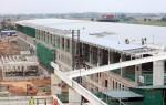 Giá cát đen cho gói thầu 9A thuộc dự án nhà ga T2 Nội Bài