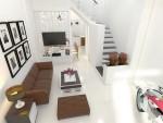 Tư vấn xây nhà ống 51 m2 với 4 phòng ngủ
