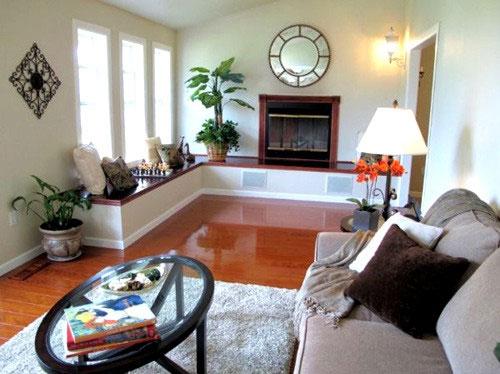 162138baoxaydung image002 Thiết kế và bài trí nội thất cho phòng khách hẹp và dài