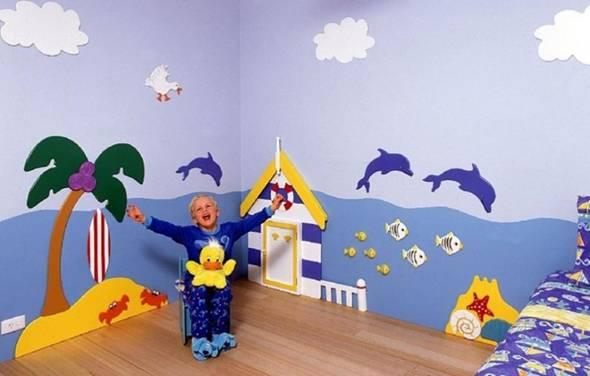144729baoxaydung image012 Thiết kế phòng ngủ theo chủ đề bãi biển mà trẻ em yêu thích